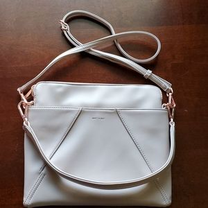 Mat and Nat Whilem Loom Collection Hobo/Cross body